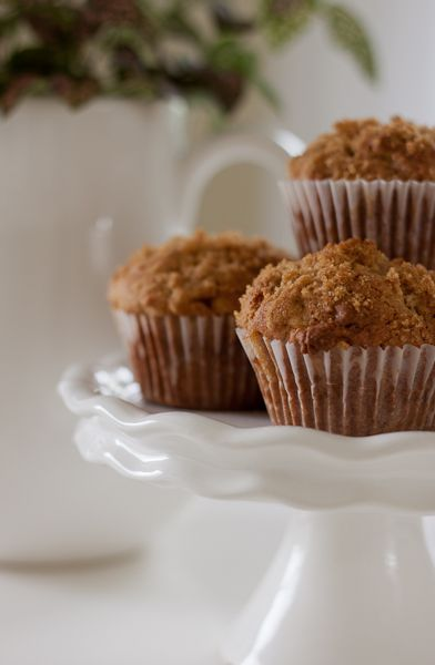 So-o-o Good Apple Strudel Muffins | Cozy.Cottage.Cute.