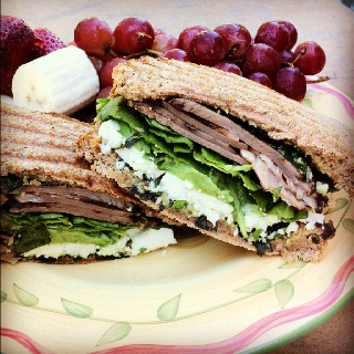 Roast Beef, Arugula And Shaved Parmesan On A Baguette Recipes ...
