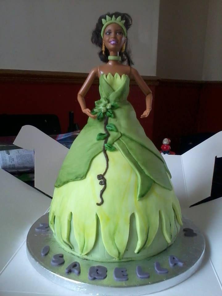 Princess and the Frog - Princess Tiana cake