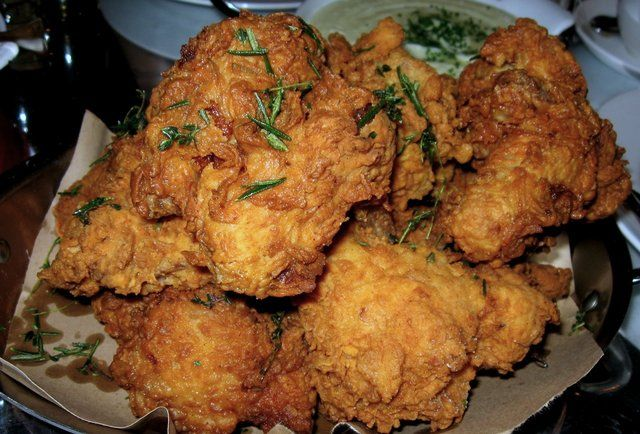 Buttermilk chicken Buttermilk-fried chicken The 411: Sometimes known ...