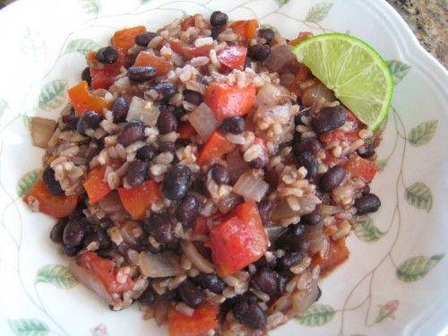 Easy Black Beans and Rice | FEED ME!!! | Pinterest