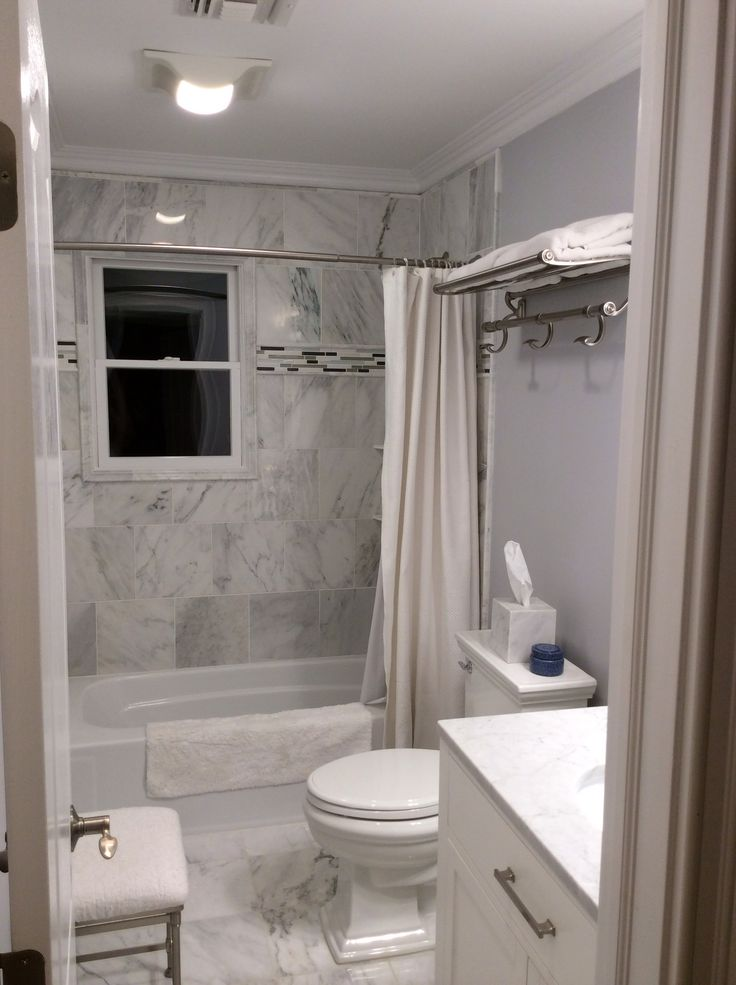 White carrera marble bathroom home pinterest for Carrera bathroom ideas