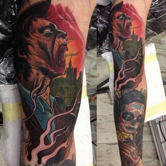 aussergew hnliche hervorragende tattoos tattoo 221. Black Bedroom Furniture Sets. Home Design Ideas