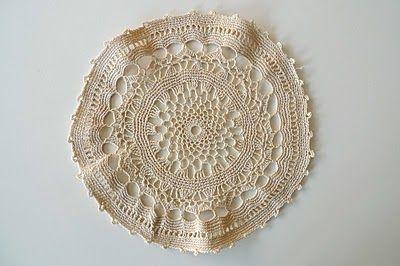 Block Crocheted Bedspread - Free Crochet Bedspread Patttern