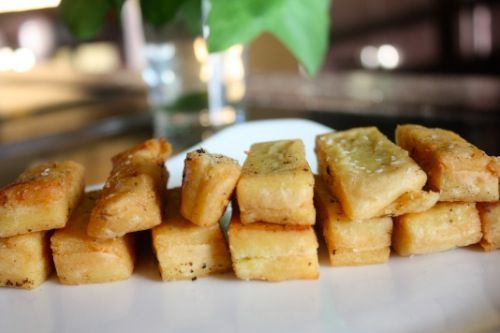 chickpea fries | Eats - Side Dishes | Pinterest
