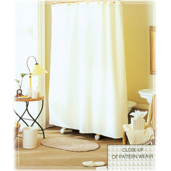 Shower Curtain Rod Without Drilling White Crochet Shower Curtain