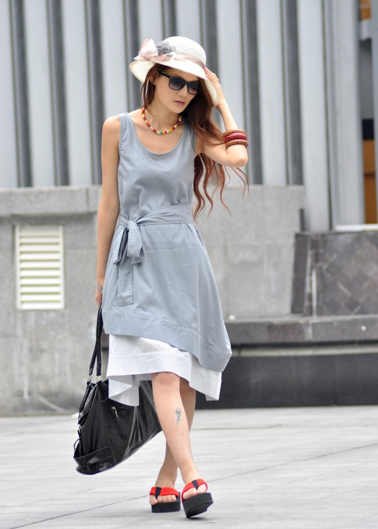 two layers dress by sophia clothing on etsy