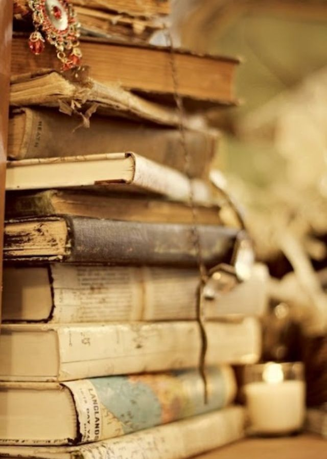 a love for old books.
