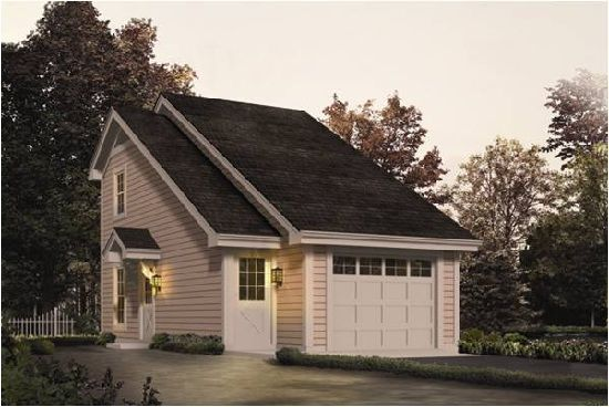 Redwood one car garage apartment plans garage apt for Single car garage with apartment