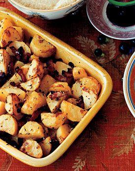 Potato and Lardon Casserole | Recipe