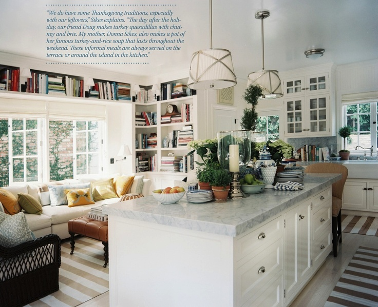 Love This Kitchen Sitting Area Combo Home Kitchen