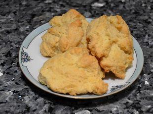 Cream Cheese Drop Biscuits | Delish | Pinterest