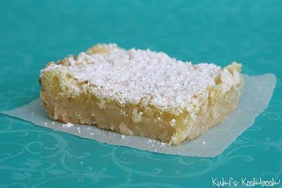 Lemon Bars | love the food | Pinterest