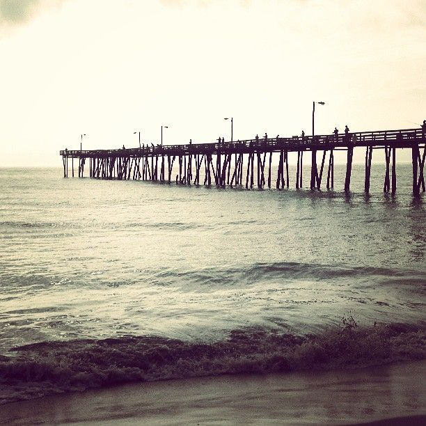 Nags head fishing pier outer banks piers pinterest for Nags head fishing pier