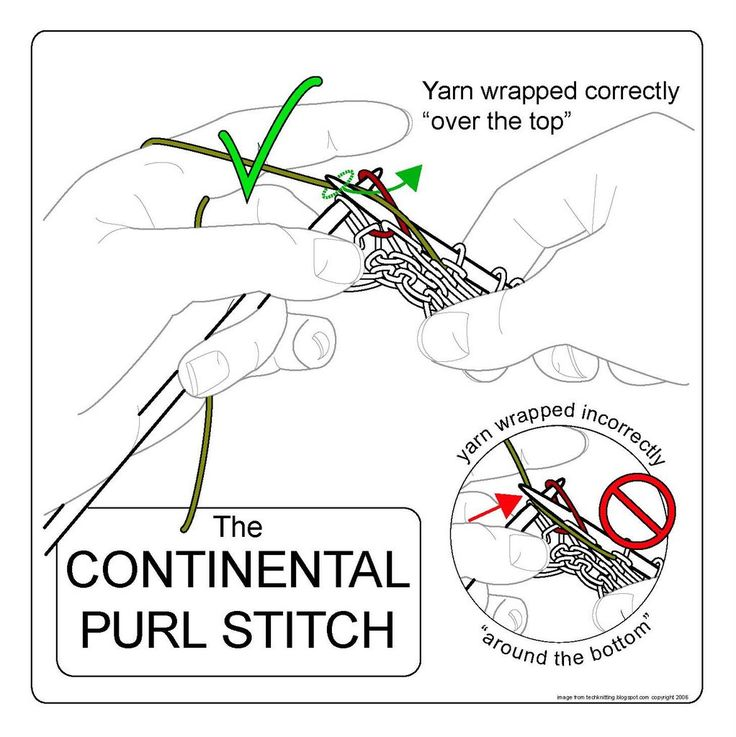 Knitting Purl Stitch Continental : Pin by Linda Felter on Kids stuff Pinterest