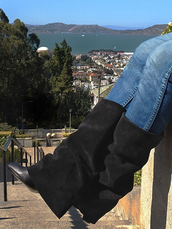 WHERE MY SHOES HAVE BEEN: SAN FRANCISCO