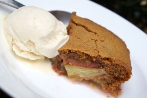 More like this: rhubarbs , gingerbread and puddings .