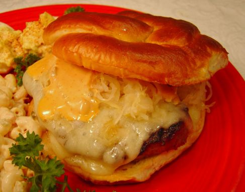 German Burger | Not your mama's burger | Pinterest