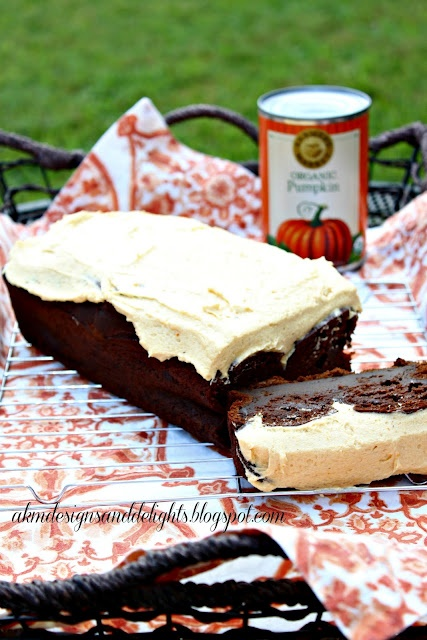 Double Chocolate Pumpkin Cake With Pumpkin Spice Buttercream Recipes ...