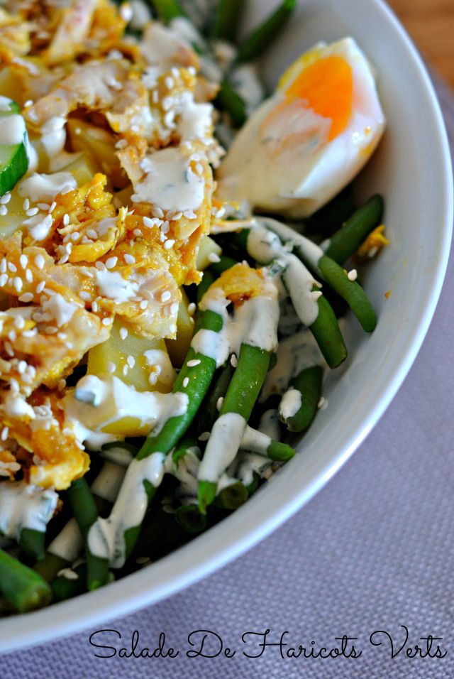 salade haricots verts... | STILL HUNGRY / TOUJOURS FAIM | Pinterest