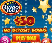 Start playing online bingo with a free 30 00 on sign up to try the