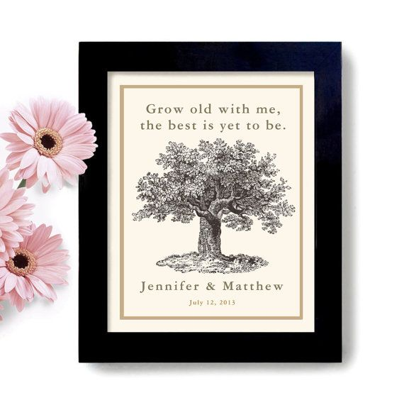 Creative Wedding Gift Ideas For Couples : Engagement Gift Personalized Unique Wedding Gift for Couples Tree Fra ...