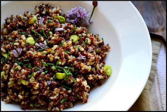 Red Quinoa and Jade Pearl Rice   with Sage Brown Butter @Magicalspice