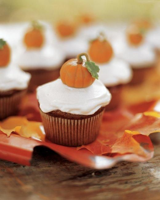 Pumpkin Patch Cupcakes Recipe