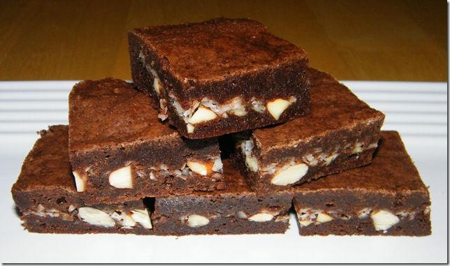 Almond Joy brownies. I made these for dessert tonight. I used regular ...