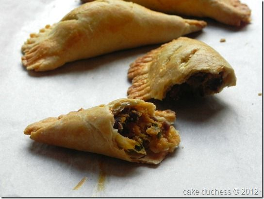 Cake Duchess: Sweet Potato and Black Bean Empanadas (only slightly ...
