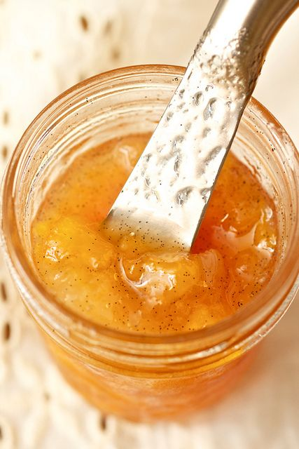Peach Vanilla Bean Jam | Treats | Pinterest