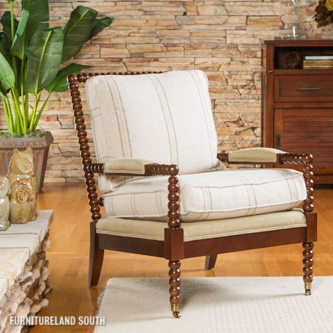 C R Laine Furniture Spool Chair