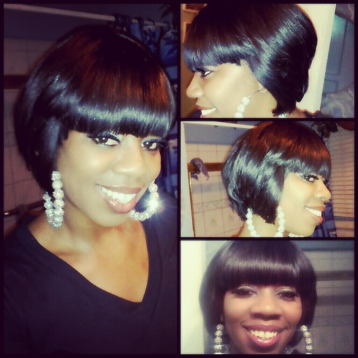 body wave hairstyle : quick weave