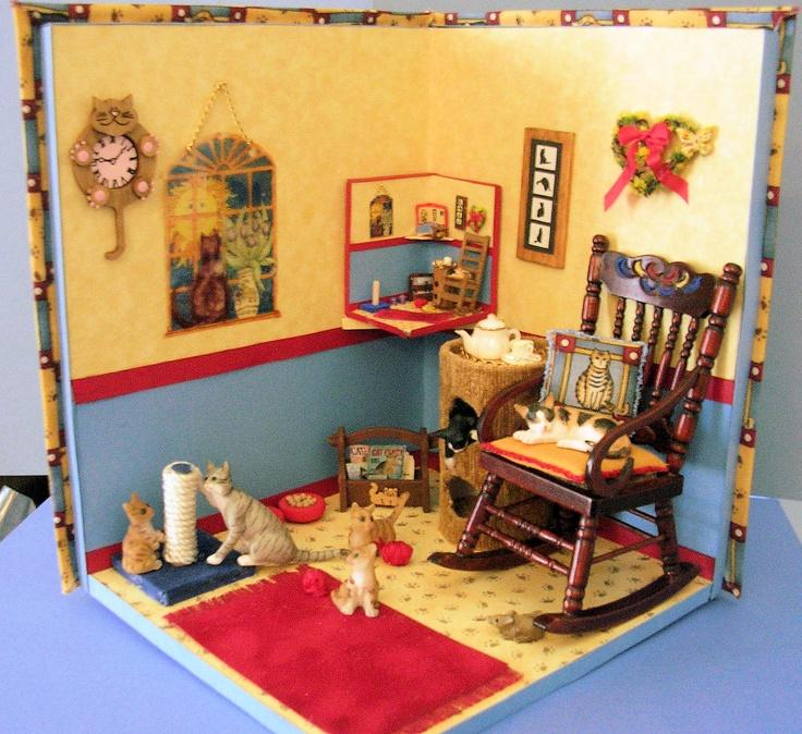 cute decor for half way rooms cat house ideas pinterest
