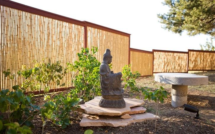 Bamboo fence panels stuff i want pinterest - Japanese garden gates ideas ...