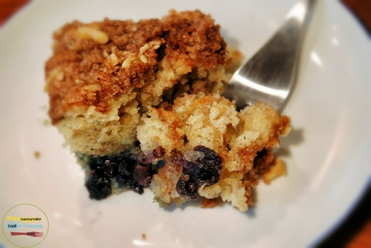Dense, rich blueberry sour cream coffee cake | Recipe