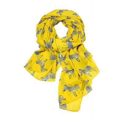 Zebra Crossing scarf by Printed Village