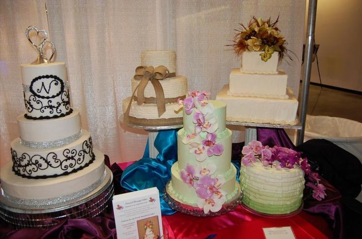 wedding cakes bridal extravaganza of atlanta with david tutera pi