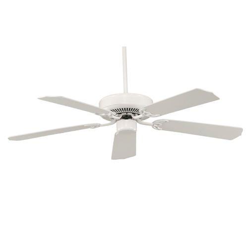 "Photon 52"" White Ceiling Fan at Menards | Light fixtures | Pinterest"