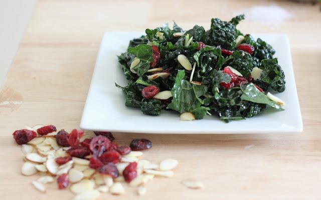 Lacinato Kale Salad: Three ways! | On the Lighter Side.. | Pinterest