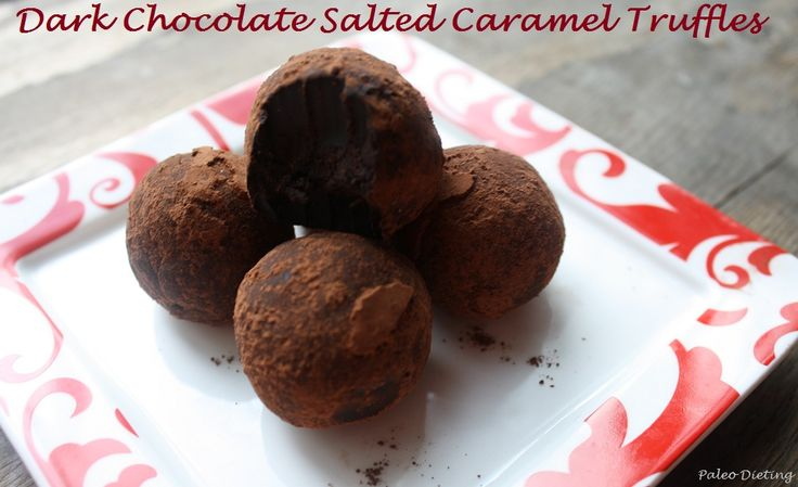 Caramel Sea Salt Truffles Recipe — Dishmaps