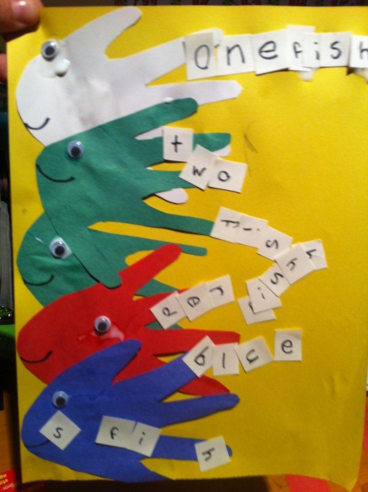 Dr seuss activities for preschoolers on pinterest just b for Dr seuss crafts for preschool