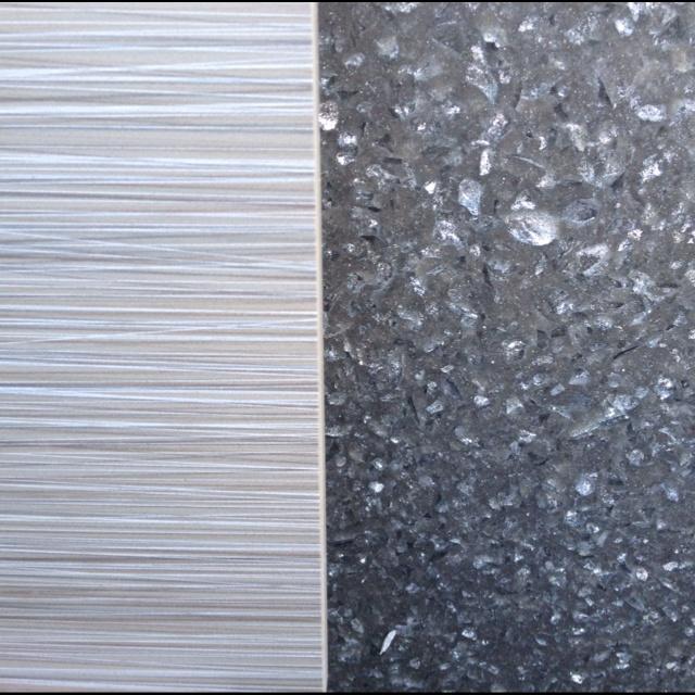 Floor Tile And Quartz Counter 2nd Floor Guest Bathroom Pinterest
