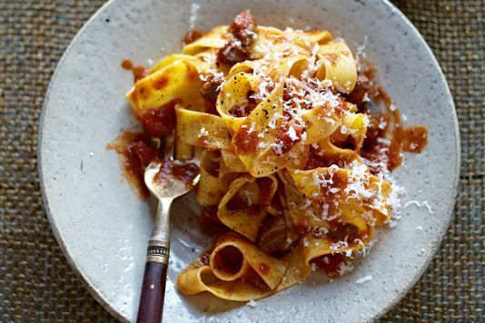 Pasta with rich meat sauce | Cakery and Bakery and everything in betw ...