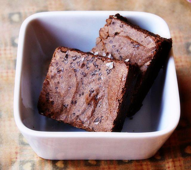 Salted Fudge Brownies | Sweet Eats | Pinterest