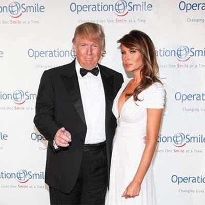 Donald Trump Sr & Melania Trump   black tie magazine   Pinterest