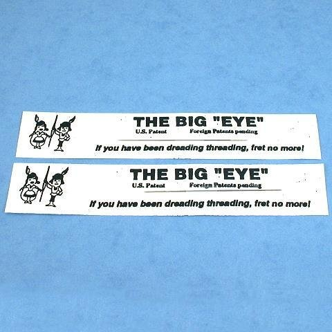 "Big Eye Beading Needles Easy Threading Tool 2.25"""