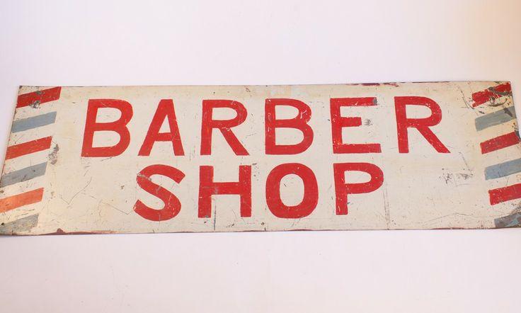 Barber Industry : Vintage Barber Shop Sign Industry Home Barbershops Pinterest