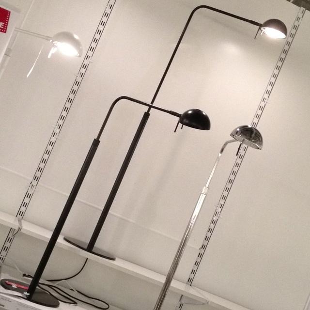Ikea Detolf Glass Cabinet Locks ~ Brasa floor reading lamps @ Ikea $69 99  Borghese Place Plans  Pint
