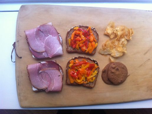 Lunch for the first day of school | Quick 'n Tasty | Pinterest